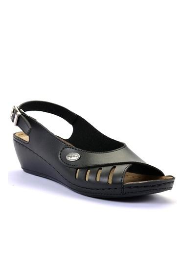 Esem Sandalet Siyah
